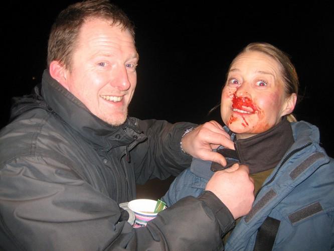 Trine Dyrholm og Dennis Albrethsen - Lille soldat 2008