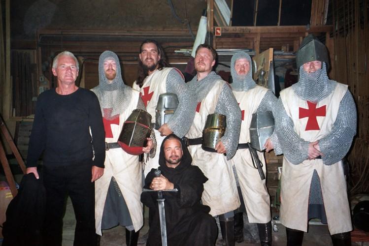 Tempelridderne med Kurt Ravn i spidsen - Tempelriddernes skat 2005