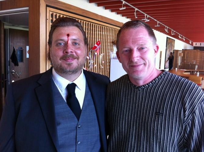 "Nicholas Bro – ""Bulls eye"" – sammen med Dennis Albrethsen - Bankerot 2014"