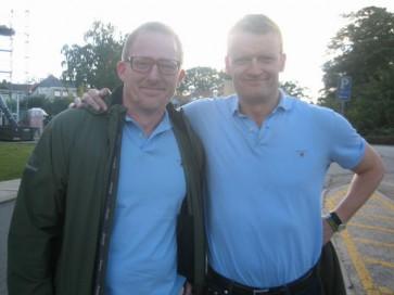Frank Hvam og Dennis Albrethsen dobbelt op Klovn the movie - 2010